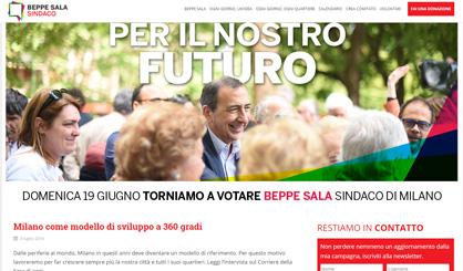 Beppe Sala - Candidato sindaco
